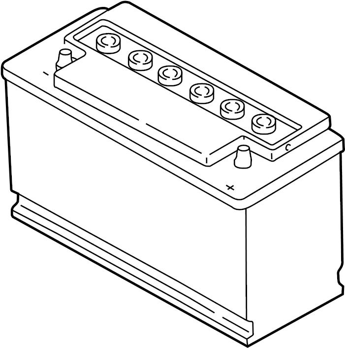 Volkswagen Passat Vehicle Battery. Amp, Hour, Trans