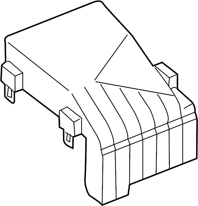 Volkswagen Cc Fuse Box Cover  Engine  Compartment  Wagon