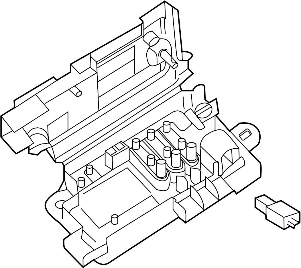 Volkswagen Passat Wagon Fuse And Relay Center  Engine