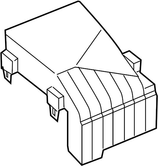 volkswagen passat wagon fuse box cover