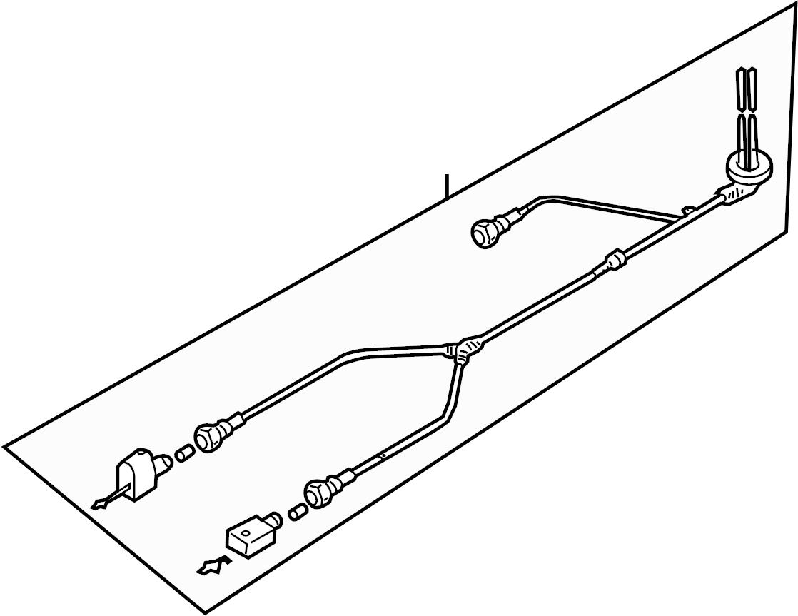 Volkswagen Sportwagen Abs Wheel Speed Sensor Wiring